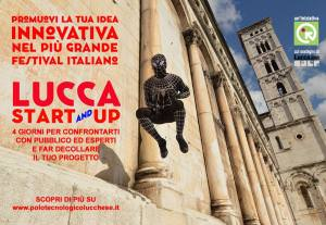 locandina progetto Lucca Start up Lucca comics