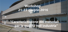 Workshop 21-22 giugno 2016