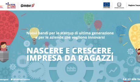 Nuovi bandi della Regione Toscana a sostegno dell'imprenditoria