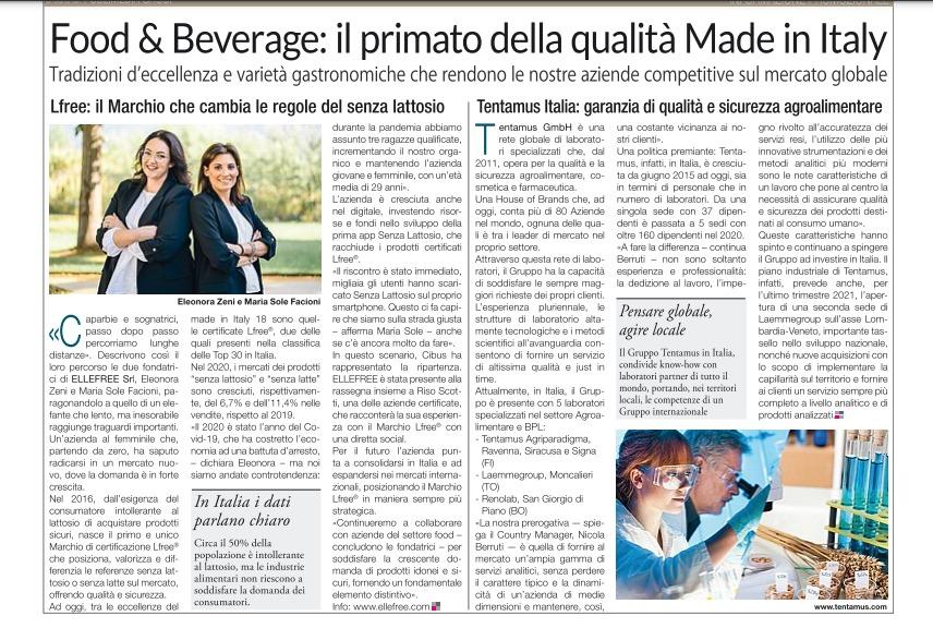 Articolo pubblicato sul quotidiano Il Corriere della Sera